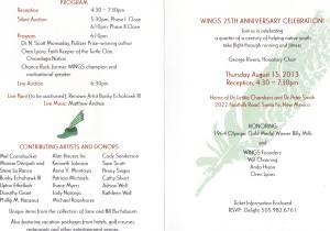 25th Invitation - Inside