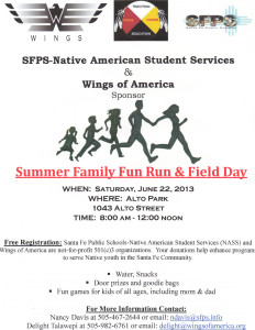 2013 SFPS Family Fun Run & Field Day