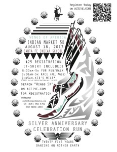 Indian Market Run Flyer