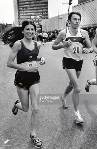 Patti Dillon Before 1980 Boston Marathon